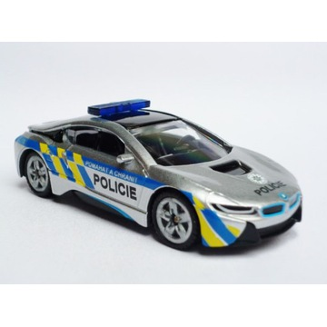 SIKU 1458 CZ BMW i8 Radiowóz Policja Policie