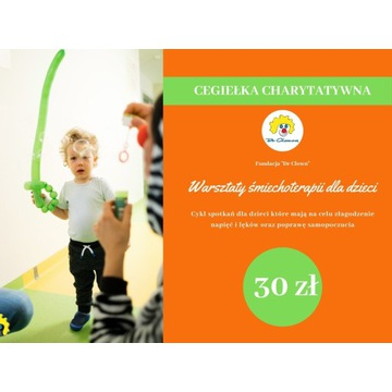 Cegiełka charytatywna o wartości 30zł