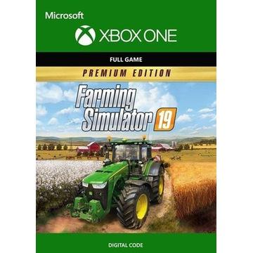 Farming Simulator 19 Premium Edition PL Xbox  Kod
