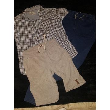 Super zestaw Gap 152 koszula spodni dres spodenki
