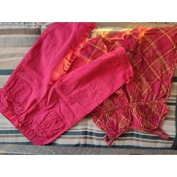 Zestaw ubranek dla dziewczynki 3-4 lata