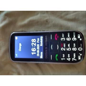 Telefon dla seniora z funkcją sos