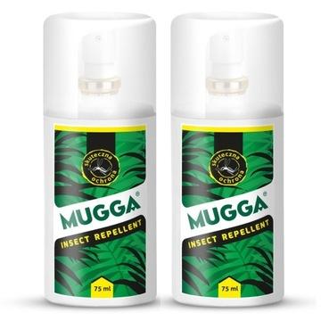 ODSTRASZANIE KOMARÓW Zestaw 2X Mugga Spray