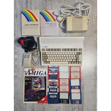 Commodore Amiga 600 zestaw oryginalna plomba