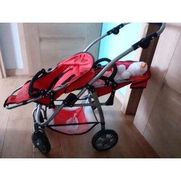 Wózek  dla lalek podwójny