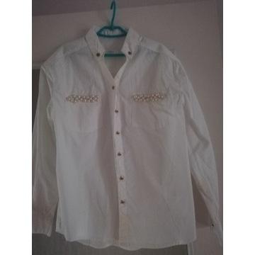 koszula biała 134 cm