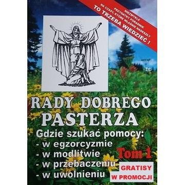 RADY DOBREGO PASTERZA komplet 1 i 2 tom b aktualne