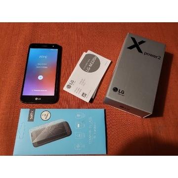 LG X power 2 w ładnie utrzymanym stanie, komplet
