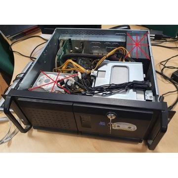 obudowa serwerowa GH 400 rack 4U do szafy 19