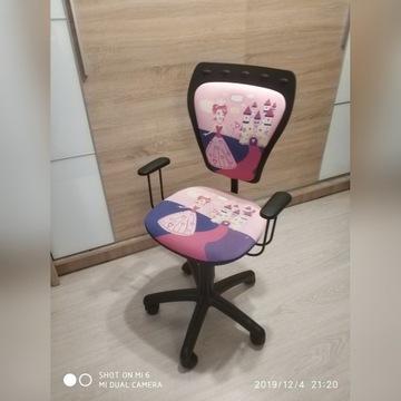 Krzesło dla dziewczynki