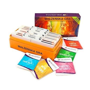 Małżeńska Gra - Nowa Edycja + dodatkowe karty