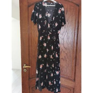 Sukienka w róże ciążowa H&M S