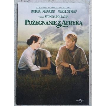 VCD: Pożegnanie z Afryką (Blixen, Redford, Streep)
