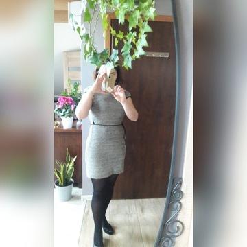 Sukienka - bezrękawnik M