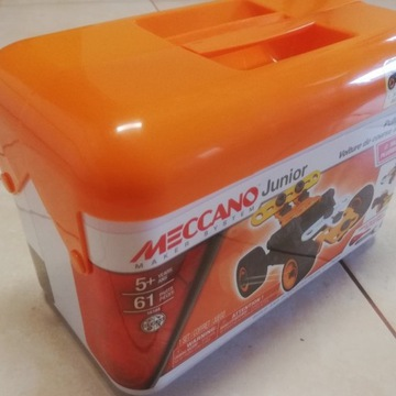 Meccano junior RACE CAR zabawka konstrukcyjna