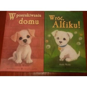 Książki W poszukiwaniu domu Wróć Alfiku Holly Webb