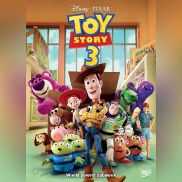 Toy Story 3 DVD PL