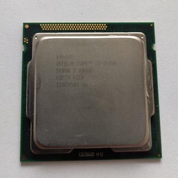 Procesor Intel i5 2500k + chłodzenie Silentum