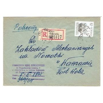 Góra Kalwaria (Piaseczno) - Koperty polec. 1965-81