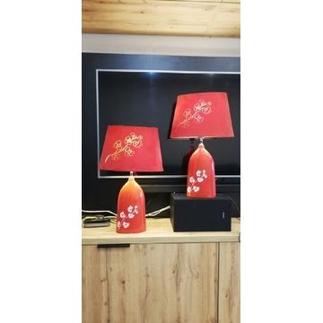 Lampy stojące czerwone