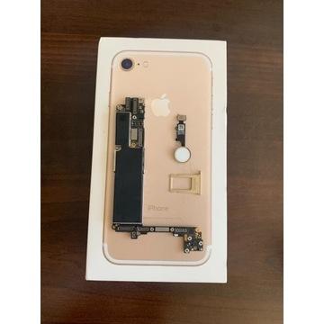 IPhone 7 Płyta Główna Gold Złoty Pudełko Tacka