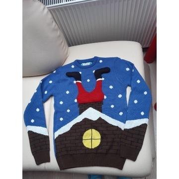 Sweter Świąteczny Mikołaj Cedar Wood State