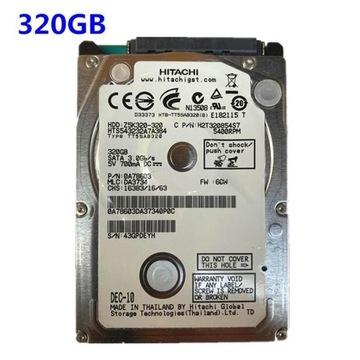 320G 2,5-calowy port szeregowy Sata2 Notebook 320G
