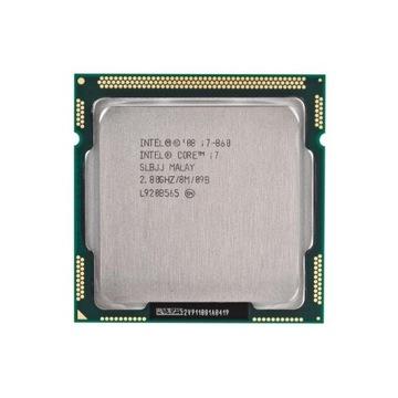 Procesor Intel CORE i7-860 3.33GHz 4 rdzenie