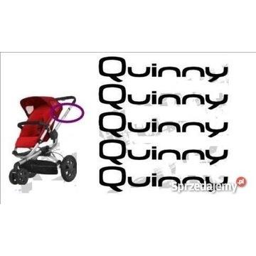Quinny naklejki na wózek