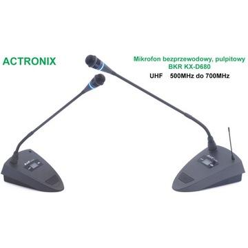 Bezprzewodowy mikrofon konferencyjny BKR KX-D680