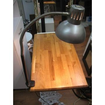 lampa warsztatowa mocowana do blatu