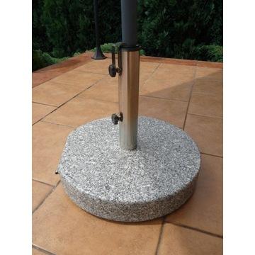 Podstawa granitowa pod parasol ogrodowy 30KG inox