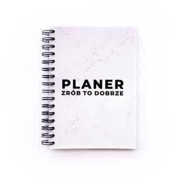 Planer niedatowany bez dat Bezwzgledny marmur