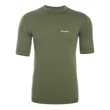 Koszulka termoaktywna Graff - krótki rękaw XL