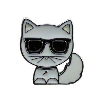 Przypinka Broszka Karl Lagerfeld Kot Choupette