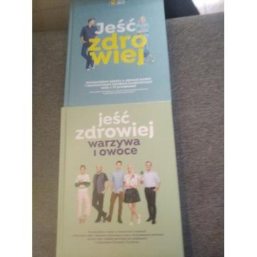 Książki kulinarne książka Jeść zdrowiej Lidl