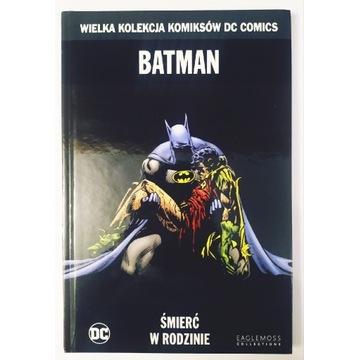 Wielka Kolekcja Komiksów Batman Śmierć w Rodzinie