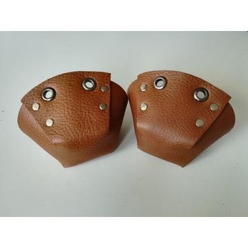 Ochraniacze na wrotki / toe cap - Brązowe