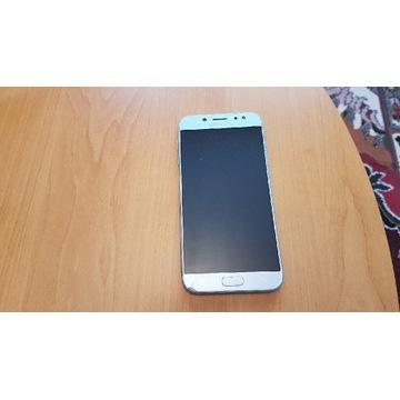 Samsung J7 duos, błękit, uszkodzony ekran