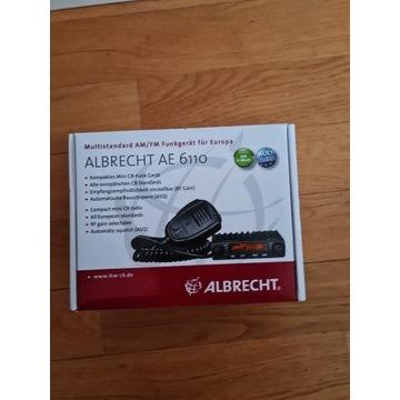 CB Radio ALBRECHT AE6110 + Antena
