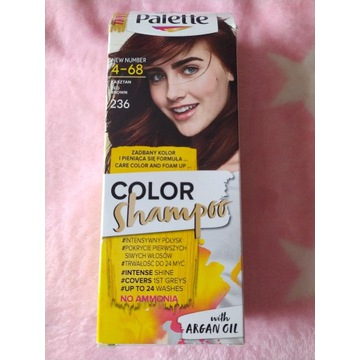 Palette, szampon koloryzujący 236 (4-68) kasztan
