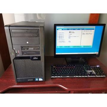 Komputer z Monitorem 4 GB RAM + Myszka WINDOWS 10