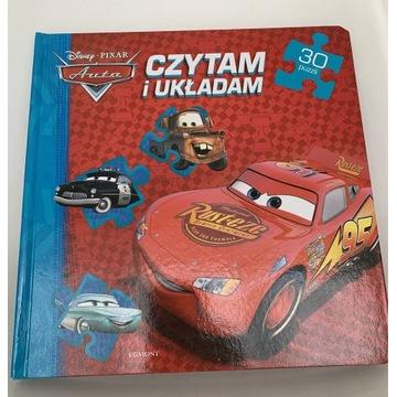 Auta Cars puzzle w formie książeczki