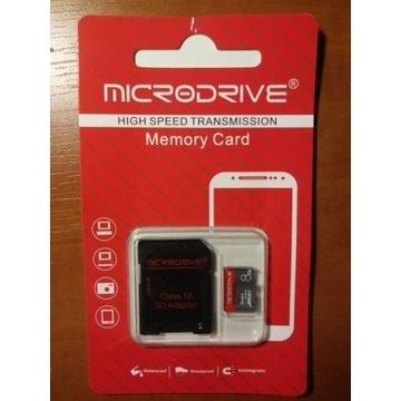 Karta pamięci 8GB + adapter