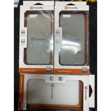 Etui case Iphone 6 3szt.2xblack 1xclear XtremeMac