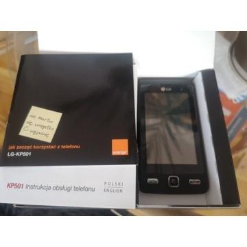 LG KP501 telefon