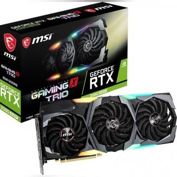 MSI RTX 2080 SUPER GAMING X TRIO GWAR. 26.11.2022