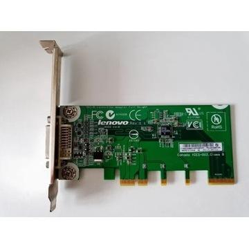 Lenovo adapter video DVI PCIe