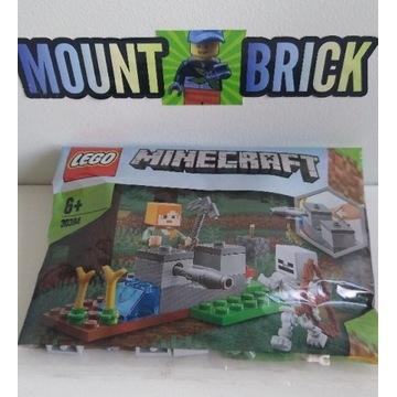Lego Minecraft 30394- Alex obrona przed szkieletem