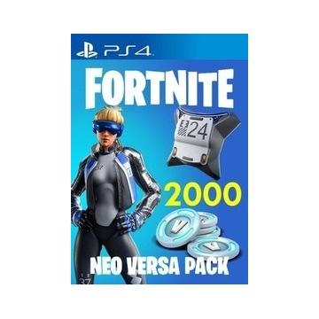 Fortnite Neo Versa PACK 2000 V-dolców na PS4